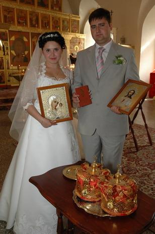 Подарок на венчание супружеским парам фото 8